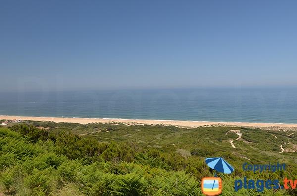 Photo de la plage de Salgado au Portugal