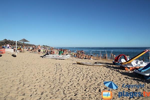 Photo de la plage de Salgados à Albufeira - Portugal