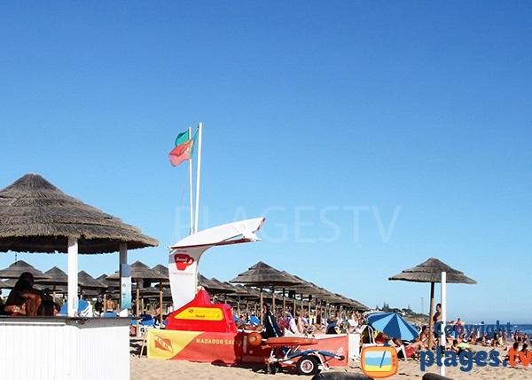 Accès à la plage de Salgados à Albufeira pour les personnes à mobilité réduite
