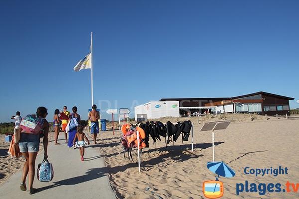 Chemin d'accès à la plage de Salgados - Albufeira