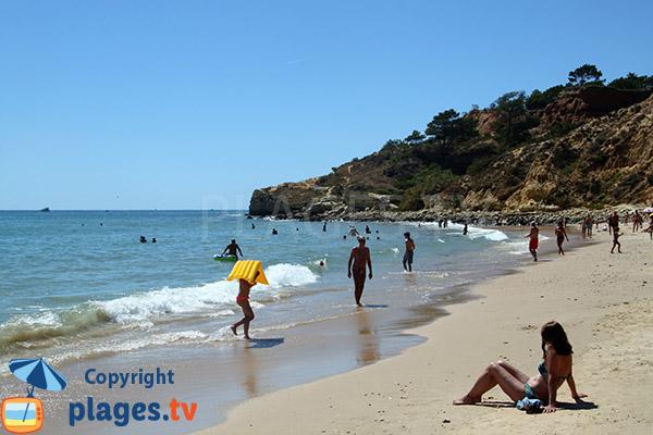 Photo de la plage de Santa Eulalia à Albufeira - Portugal