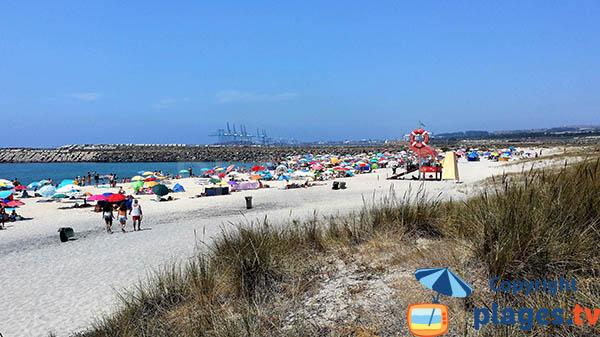 Photo de la plage de Sao Torpes à Sines - Portugal