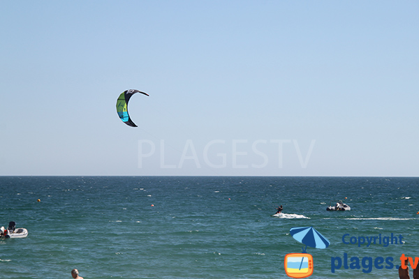 Kitesurf à  ilha de Tavira - Portugal