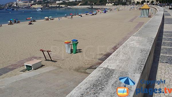 Accès à la plage de Vasco de Gama pour les handicapés - Portugal