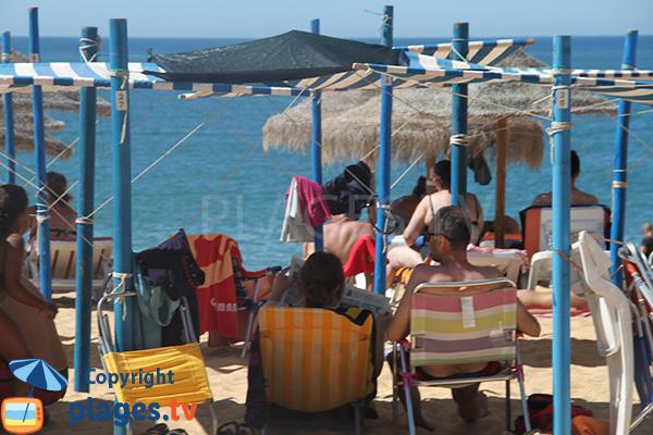 Plage privée sur la plage Vidal - Quarteira