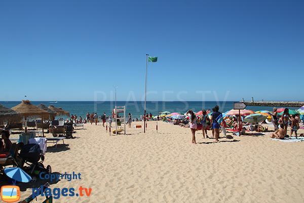 Photo de la plage de Vilamoura à Quarteira au Portugal