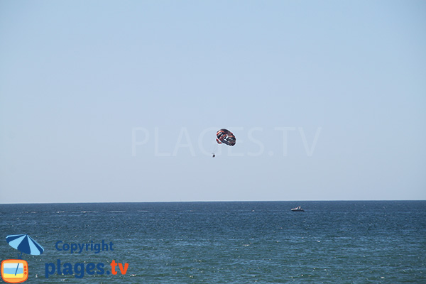 parachute ascensionnel à Quarteira
