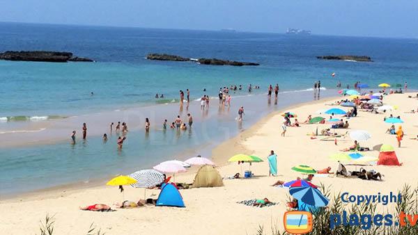 Baines à Sines au Portugal