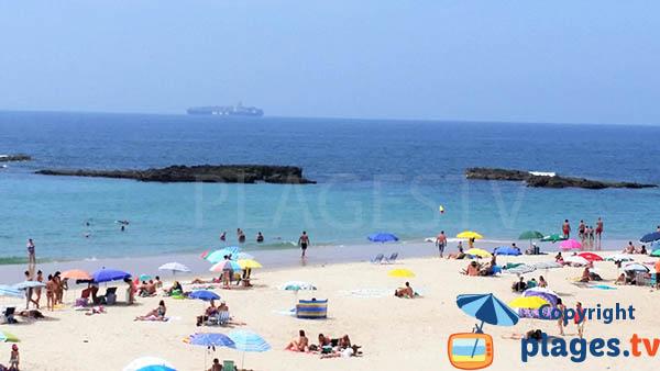 Belle plage au sud de Sines au Portugal