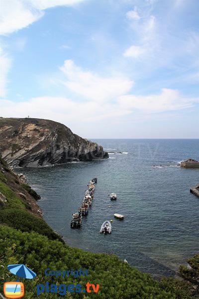 Porto dos Barcas - Port de Zambujeira do Mar