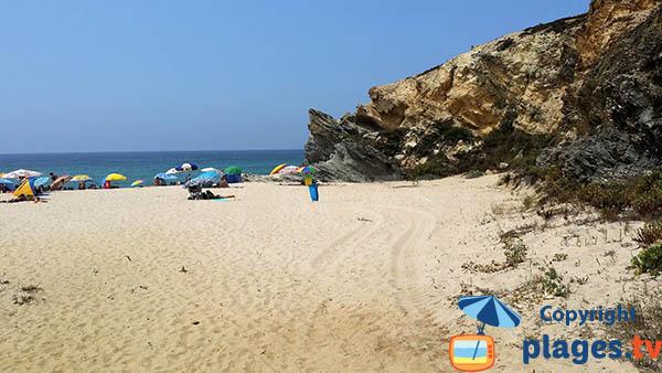 Crique de sable fin à Porto Covo - Portugal