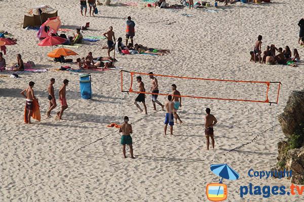 Beach Volley sur la grande plage de Porto Covo