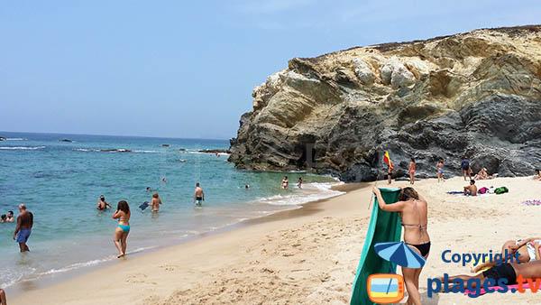 Plage pour le surf à Porto Covo