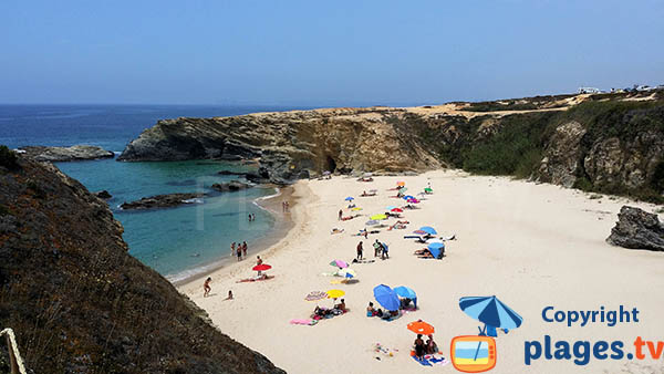 Photo de la plage de Porto Covo au Portugal