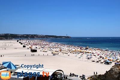 Grande plage de Portimao - Praia da Rocha - Portugal