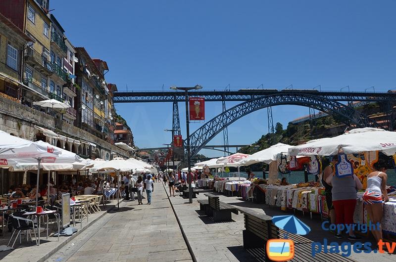 Rive du Douro à Porto