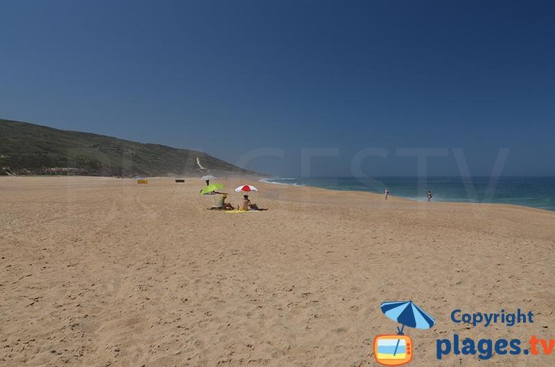 Salgado: une plage totalement sauvage au Portugal