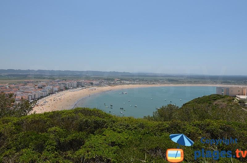 Sao Martinho do Porto: le village et sa plage