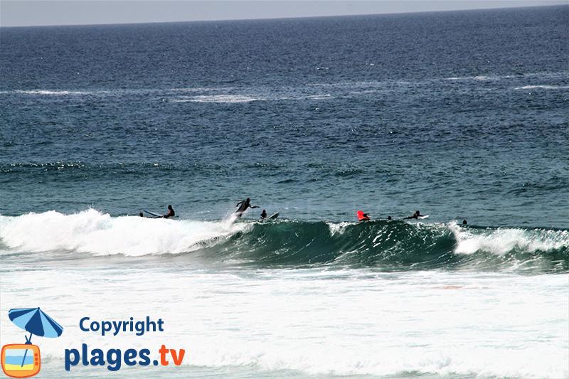 Spot de surf en Algarve à Aljezur