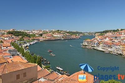 Le Douro avec Vila Nova de Gaia et Porto - Portugal