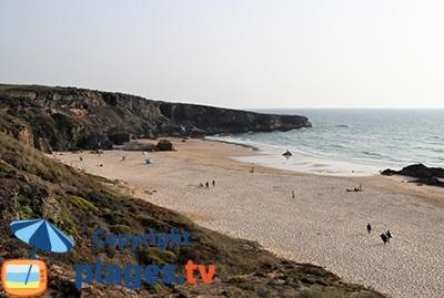 Vila Nova de Milfontes au Portugal - Une plage